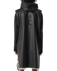 Y-3 - Black Windbreaker Vest for Men - Lyst