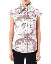 Vivienne Westwood   Multicolor Floral Button-down Shirt   Lyst