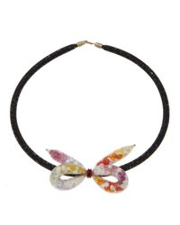 Peppercotton | Multicolored Bow Necklace | Lyst