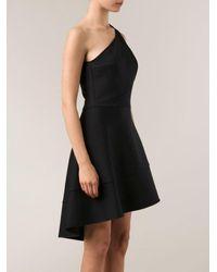David Koma Multicolor Single-shoulder Dress