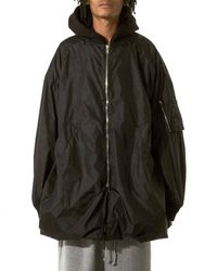 Juun.J | Black Hooded Parachute Jacket for Men | Lyst