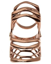Dominic Jones | Multicolor Rose Gold Plated Knuckle Ring | Lyst