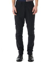 Ziggy Chen Black Relaxed-fit Trouser for men