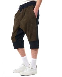 Di Liborio   Multicolor Relaxed-fit Suede Shorts for Men   Lyst