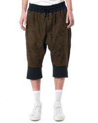 Di Liborio | Multicolor Relaxed-fit Suede Shorts for Men | Lyst