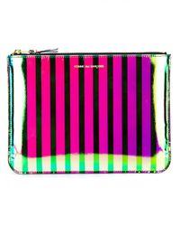 Comme des Garçons | Multicolor Iridescent Leather Case | Lyst