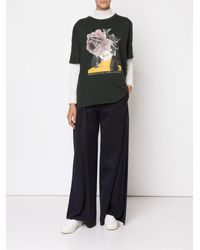 Undercover - Multicolor Fold-over Culotte Pant - Lyst