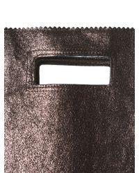 Zilla Multicolor Metallic Envelope Purse