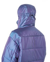 99% Is - Purple Quilted Technical Puffer Jacket for Men - Lyst