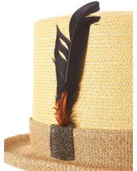 CA4LA Natural Braided Silk Doctoral Hat