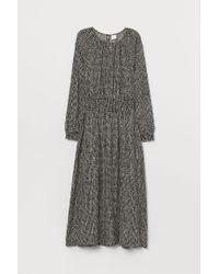 Robe à smocks H&M en coloris Black