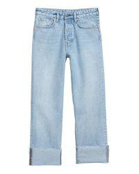 H&M Blue Original Straight Jeans
