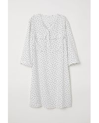 Robe chemise H&M en coloris White