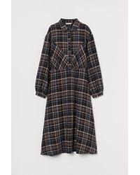 Robe chemise H&M en coloris Black