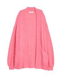 H&M Pink Strickcardigan