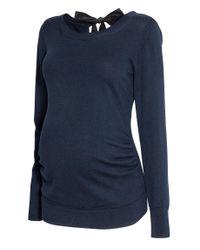 H&M Blue MAMA Pullover
