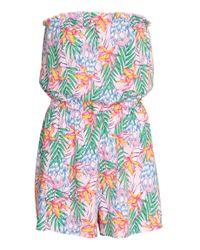 Combi-short sans bretelles H&M en coloris Pink