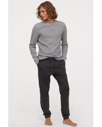 H&M Multicolor Pajama Pants for men