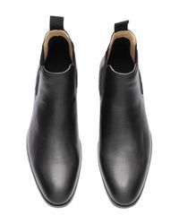 H&M Black Chelsea-style Boots for men