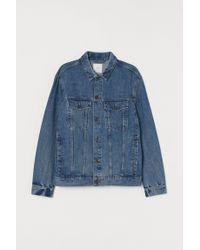 Veste en jean H&M pour homme en coloris Blue