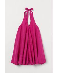 Robe en lyocell mélangé H&M en coloris Pink