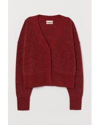 Gilet en laine mélangée H&M en coloris Red