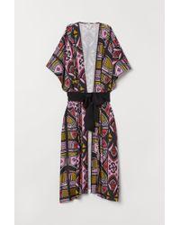 H&M Pink Long Kimono