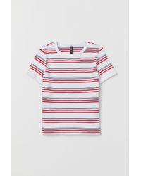 T-shirt en jersey H&M en coloris White