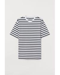 H&M T-Shirt Relaxed Fit in Blue für Herren