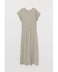 H&M Green Kleid aus Modalmischung