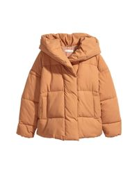 Veste matelassée à capuche H&M en coloris Orange