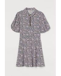 Robe zippée H&M en coloris Black