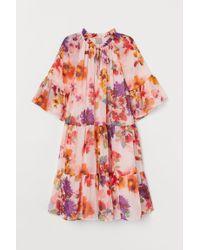 H&M Pink H & M+ Kleid in A-Linie