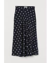 H&M Black Circular Skirt