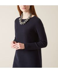 Hobbs - Metallic Erin Pearl Necklace - Lyst