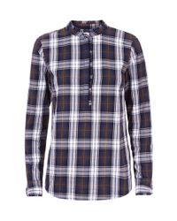 Hobbs Blue Kristen Shirt