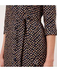 Hobbs Multicolor Milla Linen Shirt Dress
