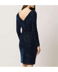 Hobbs Blue Sawyer Dress