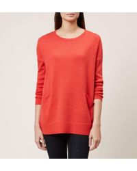Hobbs - Red Gwen Merino Wool Sweater - Lyst
