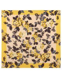 Hobbs - Yellow Orla Scarf - Lyst