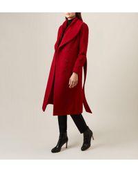 Hobbs Red Arletta Coat