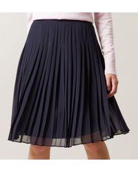 Hobbs - Blue Olivia Skirt - Lyst