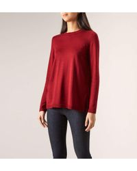 Hobbs Red Cassidy Sweater