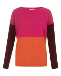 Hobbs   Pink Sofia Sweater   Lyst