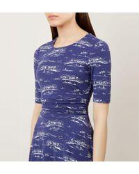 Hobbs Blue Bayview Dress