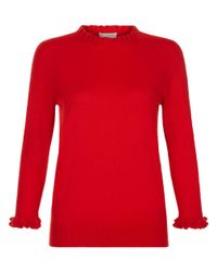 Hobbs | Red Thea Sweater | Lyst