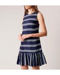 Hobbs Blue Casey Dress