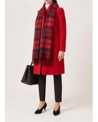 Hobbs Red 'romy' Coat