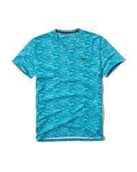 Hollister - Blue Must-have V Neck T-shirt for Men - Lyst