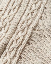 Hollister Natural Bell-sleeve Tie-front Sweater
